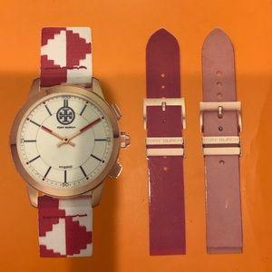 Tory Burch Hybrid Smart Watch, Case & 3 Straps